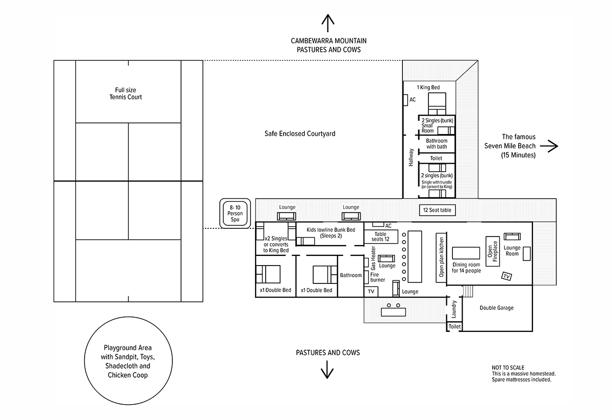 Floorplan Meadow Mountain Lodge
