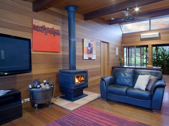 Holiday accommodation South Coast NSW Lounge
